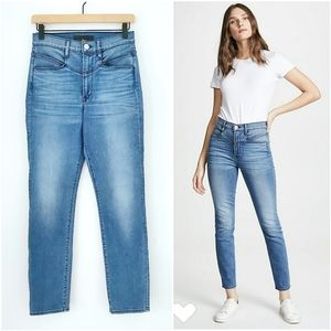 3x1 Jesse High Rise Straight Leg Jeans in Sumner